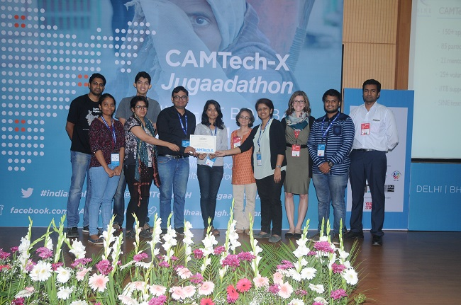 Runners Up at the CAMTechX Jugaadathon 1